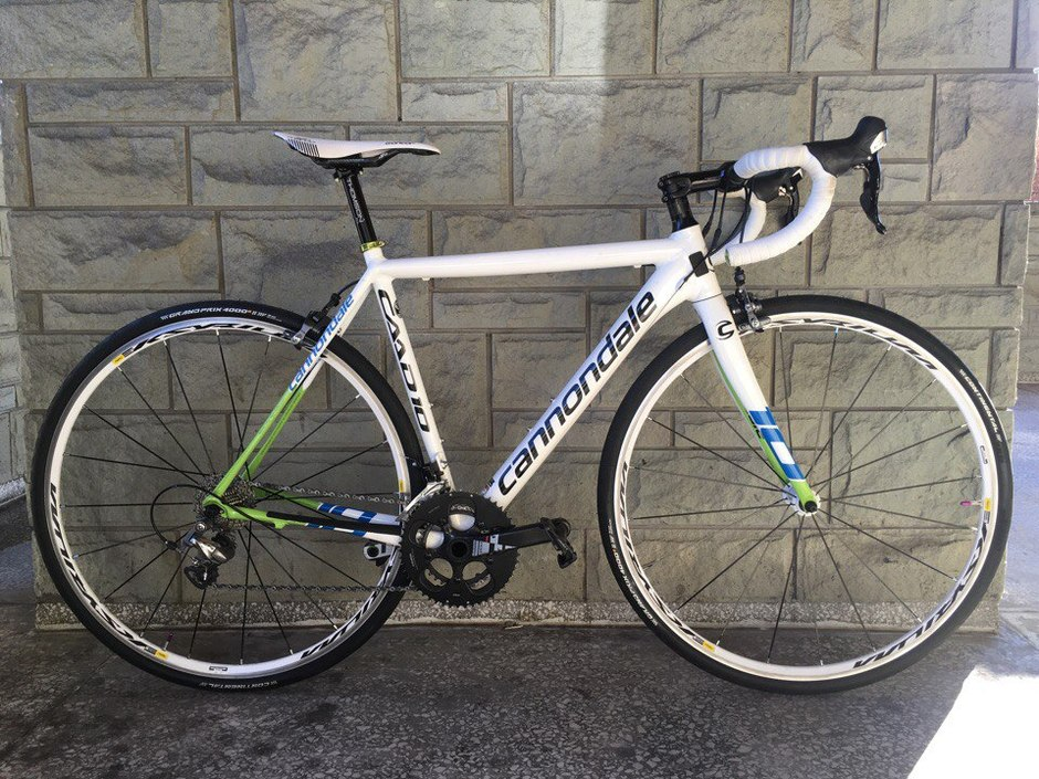 Cannondale CAAD10 52cm - Pedal Room
