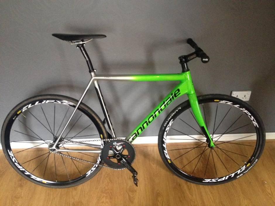 Cannondale Caad10 Track Bike 2016 Pedal Room