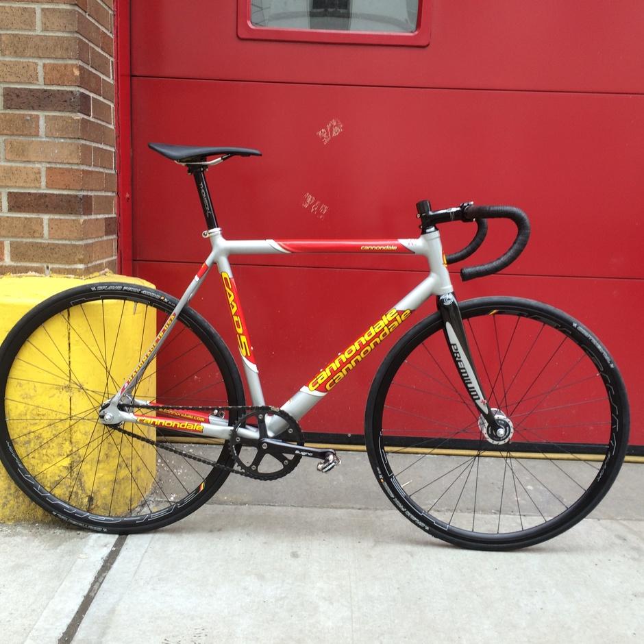 Max Advanced Brakes >> Cannondale CAAD5 Track - Pedal Room