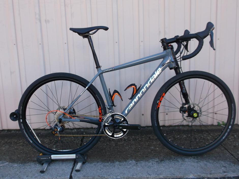 Cannondale Slate Ultegra Pedal Room