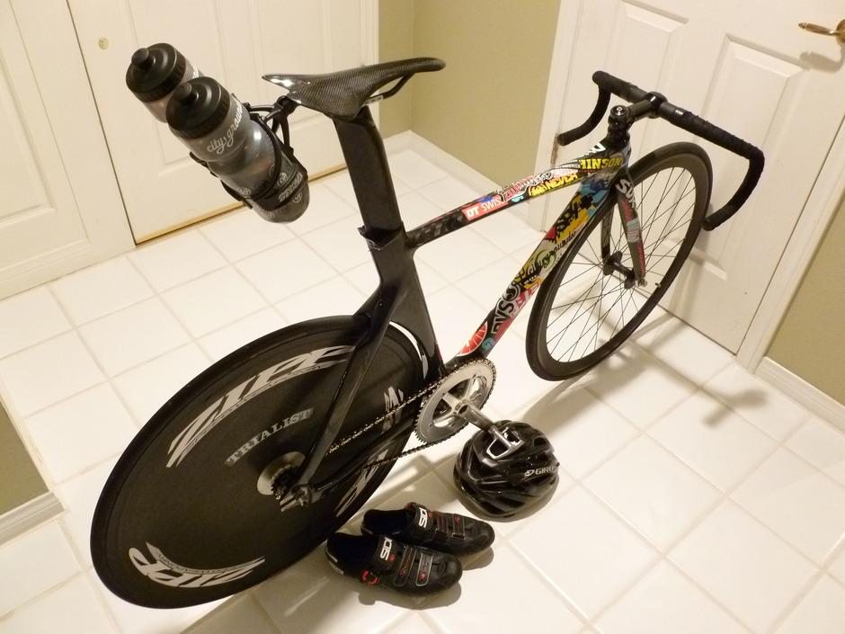China Full Carbon Track Bike - Pedal Room