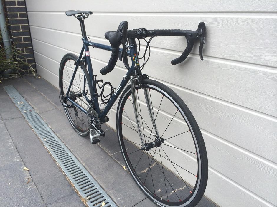 View From My Bike >> Cinelli Gazzetta Della Strada - Pedal Room