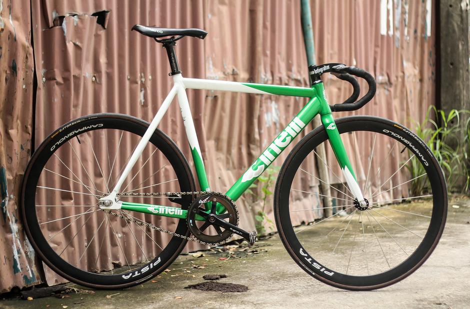 Cinelli Mash Green - Pedal Room