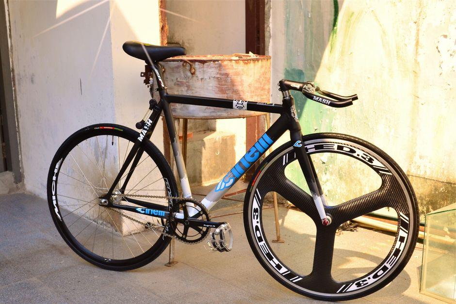 Cinelli Mash Langsafixedgear Pedal Room