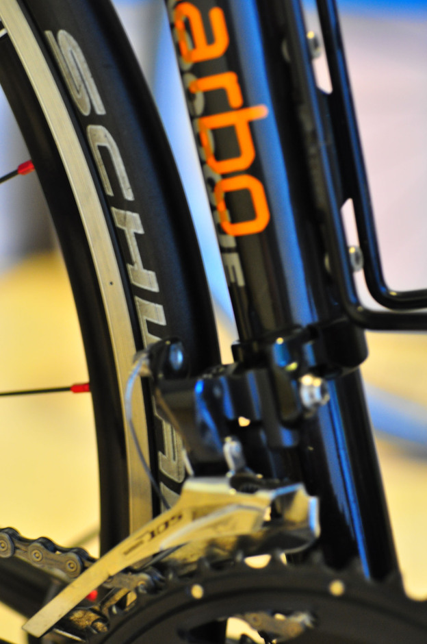 Cinelli Willin Full Carbon Pedal Room