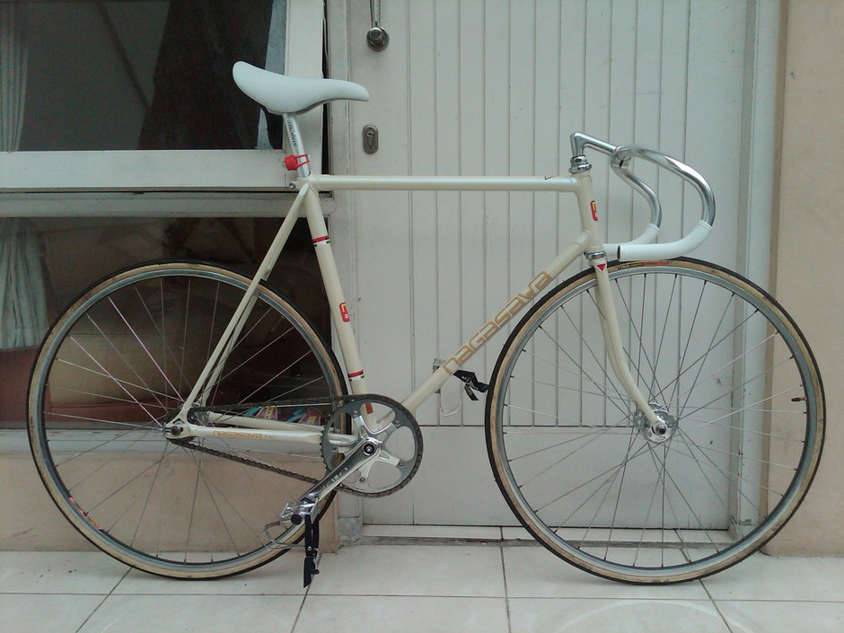 Classic Track Bike Indonesia Handmade Pedal Room