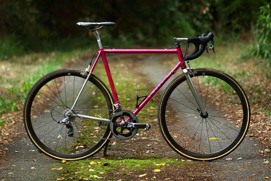Clerc Neo Retro Road Bike Pedal Room