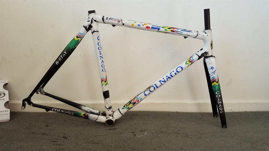 Colnago C40 Mapei world champion - Pedal Room