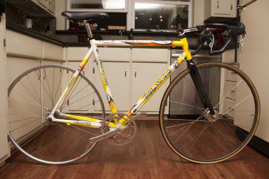 colnago dream lux pedal room