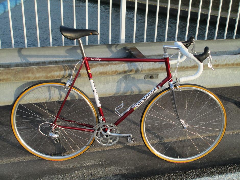Colnago Super 1984 Pedal Room