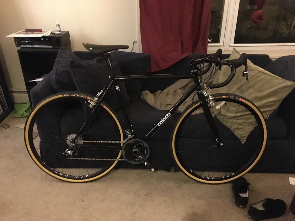 Colossi Rambler Cx Pedal Room