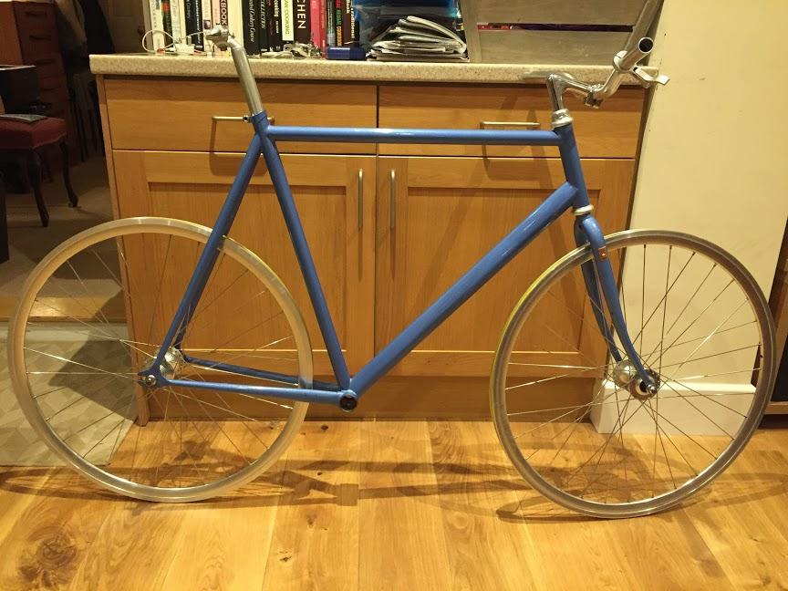 Columbus Thron Steel Track Bike Pedal Room