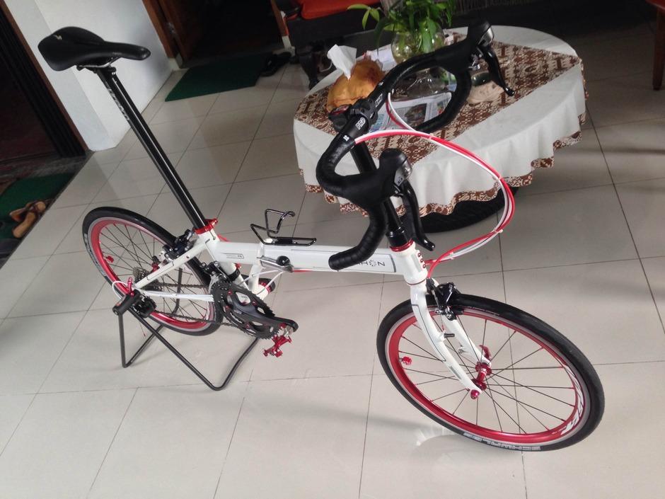 Dahon Speed P20 - Siputih - Pedal Room