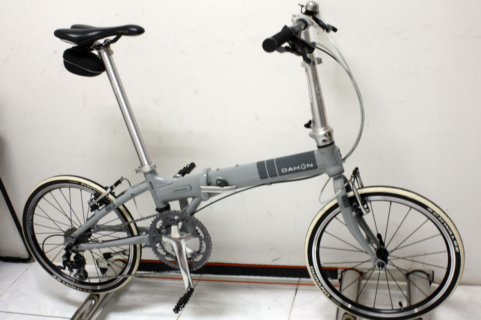 Dahon Vitesse D7 Upgrade 10 Speed Pedal Room