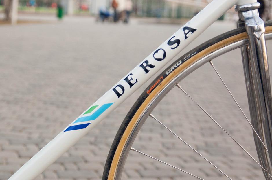 De Rosa Pista Aerodinamica Pedal Room