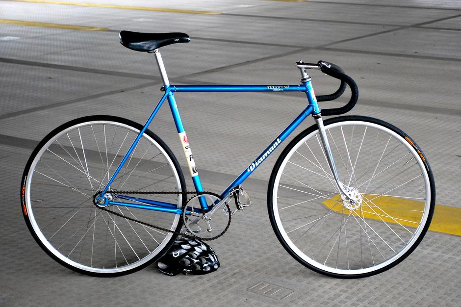 Diamant Rs Track Bike Pedal Room