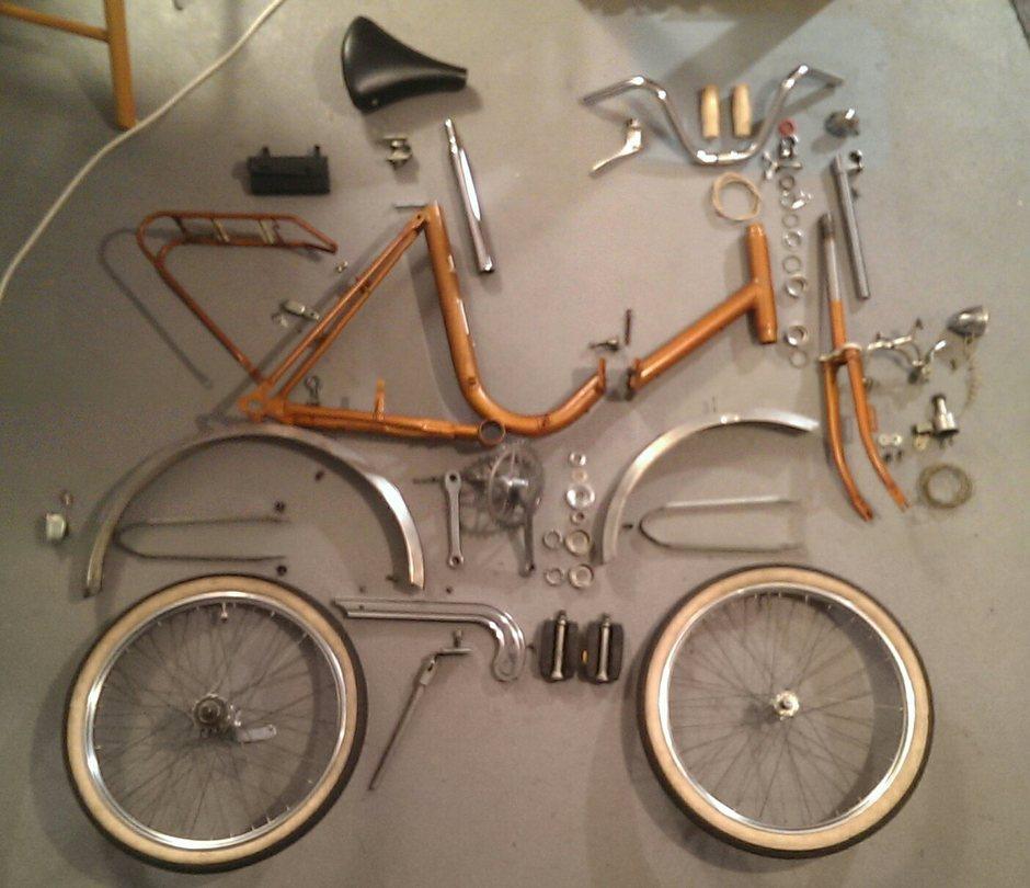 20 elite rixe folding bike sold pedal room. Black Bedroom Furniture Sets. Home Design Ideas
