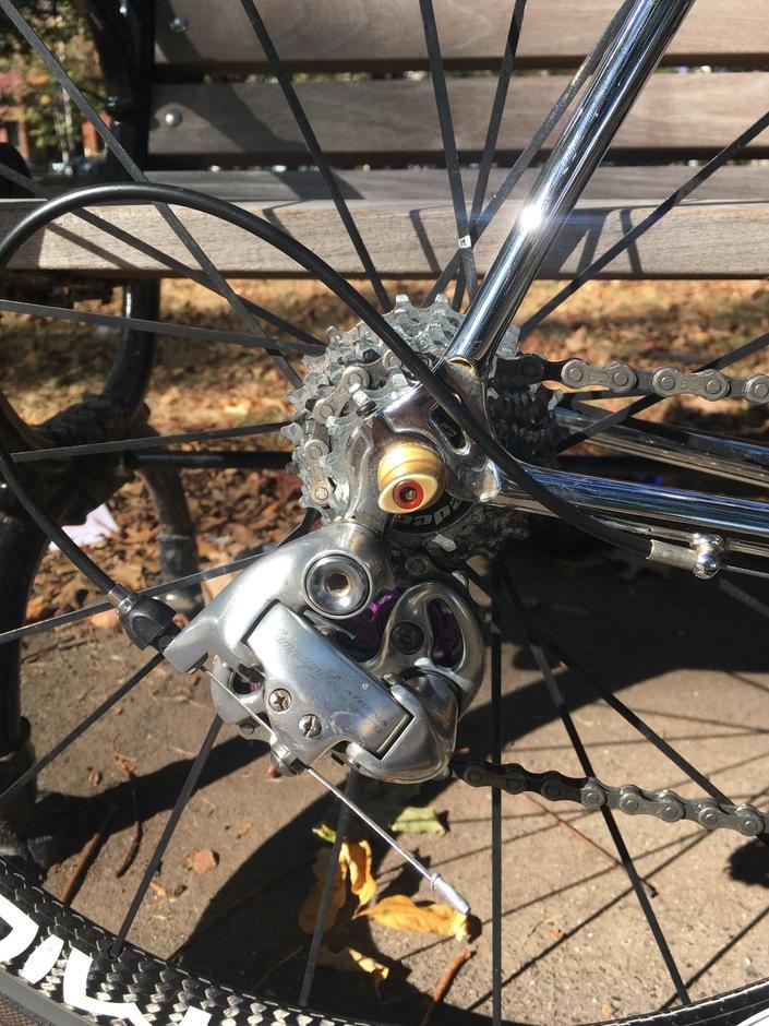 F Moser Pro Evolution Pedal Room