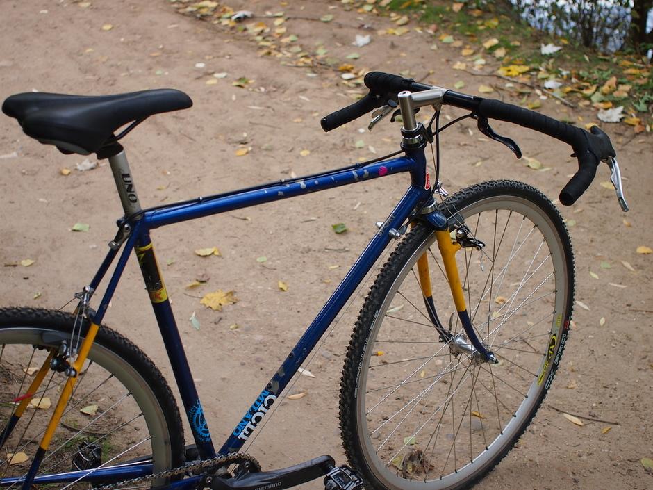Frankenstein Ciclocross Pedal Room