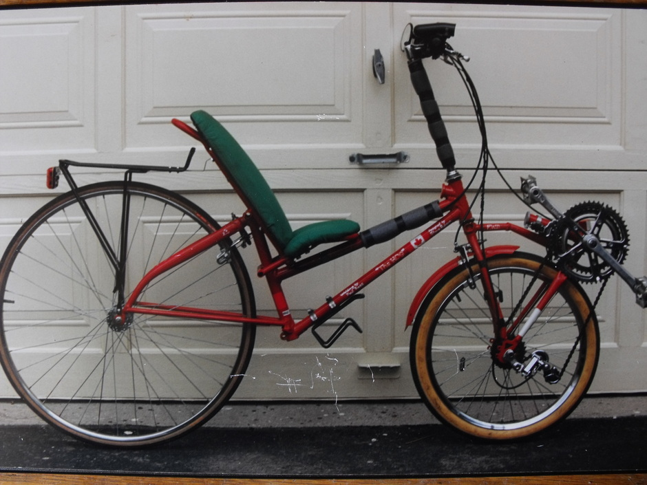 1995 Front Wheel Drive Recumbent Pedal Room