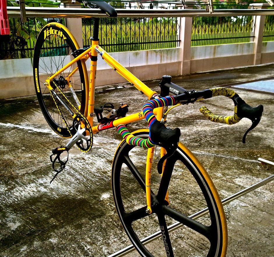 Fuji Classic Quot Yellow Quot Pedal Room