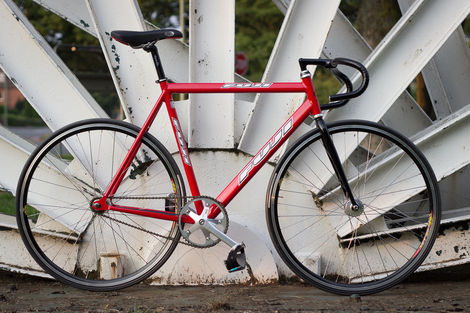 Fuji Track Bike 57cm c-t red - Pedal Room