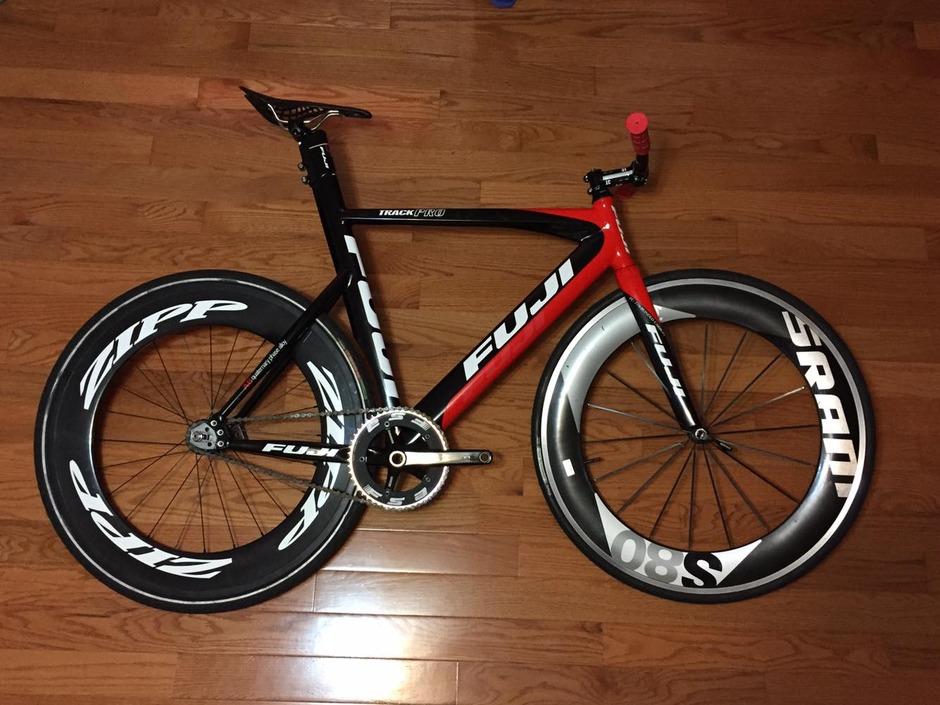 Fuji Track Pro 09 Pedal Room