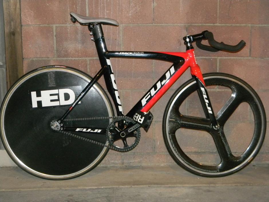 Fuji Track Pro 09 - Pedal Room