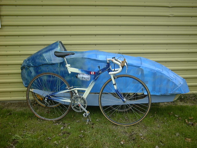 Fastest Road Bike >> 2001 Fully Faired Recumbent Bike Project - Pedal Room