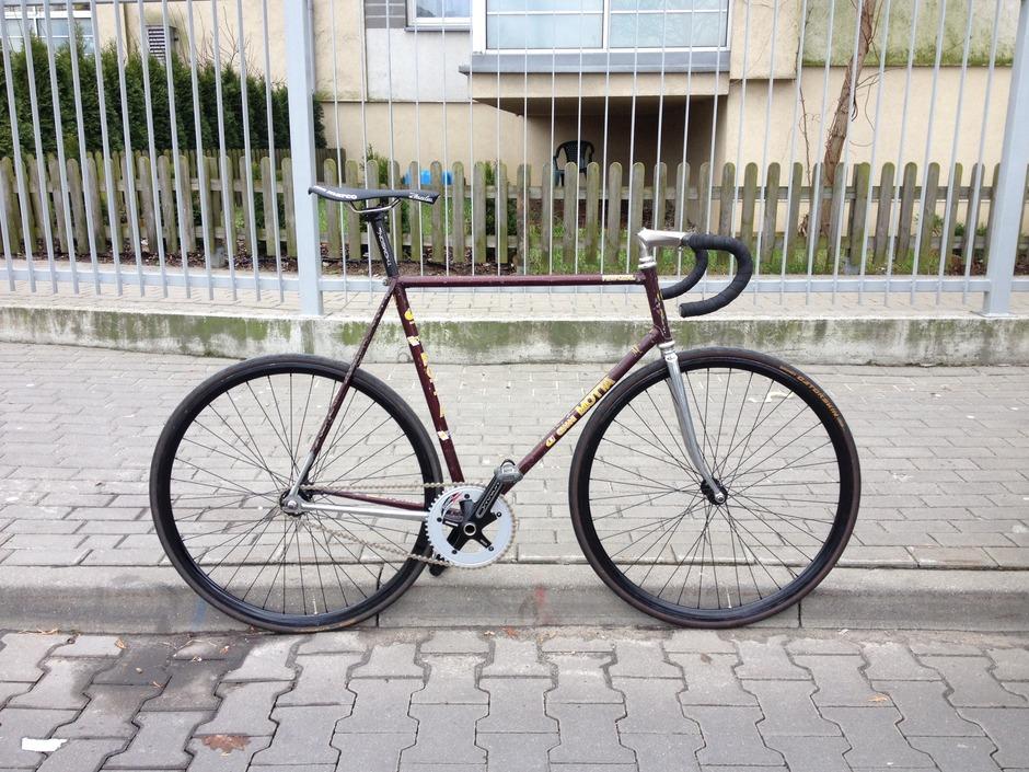 Gianni Motta Personal Pista Pedal Room