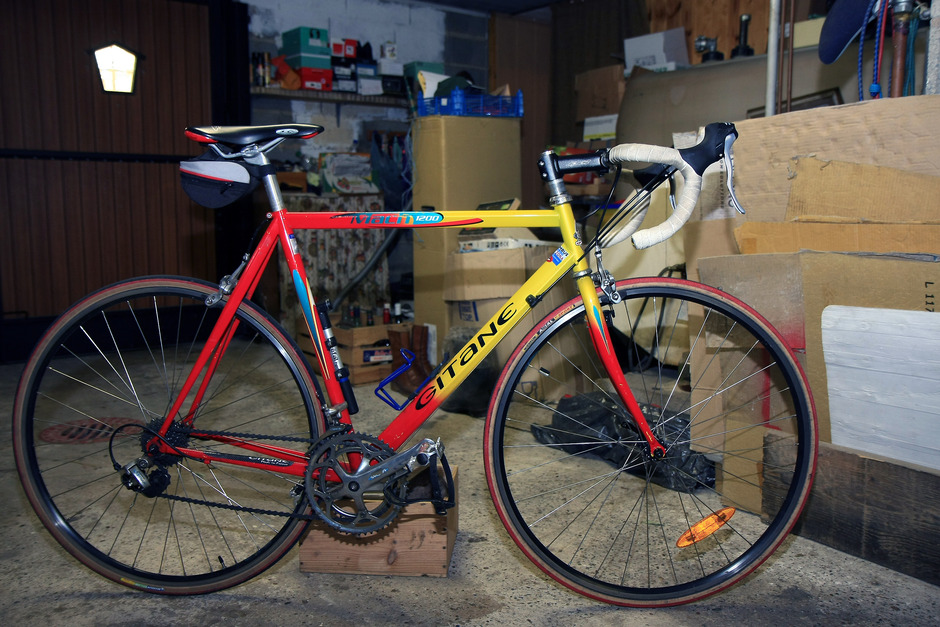 Gitane Mach 1200 Road Bike Pedal Room