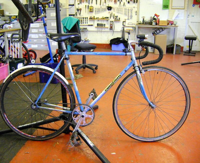 Guerciotti Sprint Pedal Room