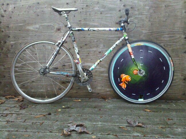 Odyssey Bmx Wheels. Tectro with an Odyssey BMX