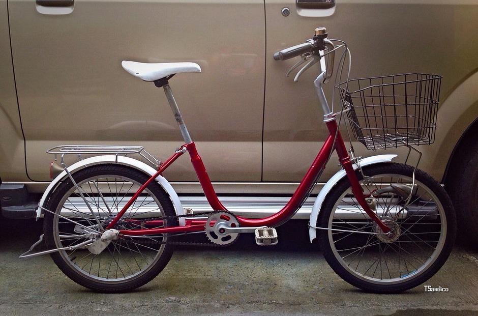 Japanese City Bike Pedal Room