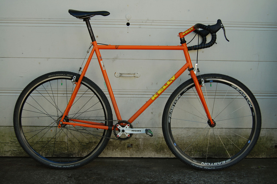 Kelly Knobby X Single Speed Cyclocross Pedal Room
