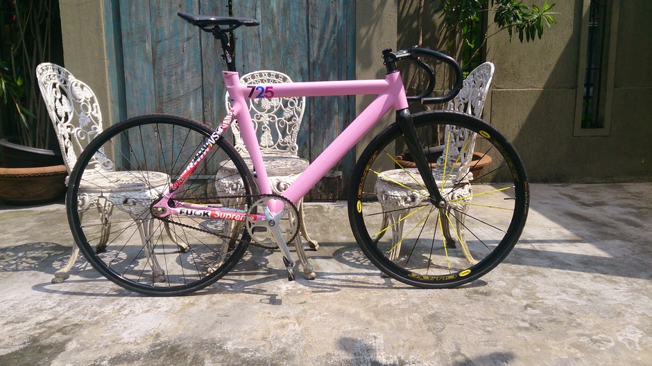 Leader 725 x Repaint Pink - Pedal Room