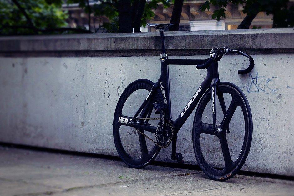 Look 496 Track Pedal Room