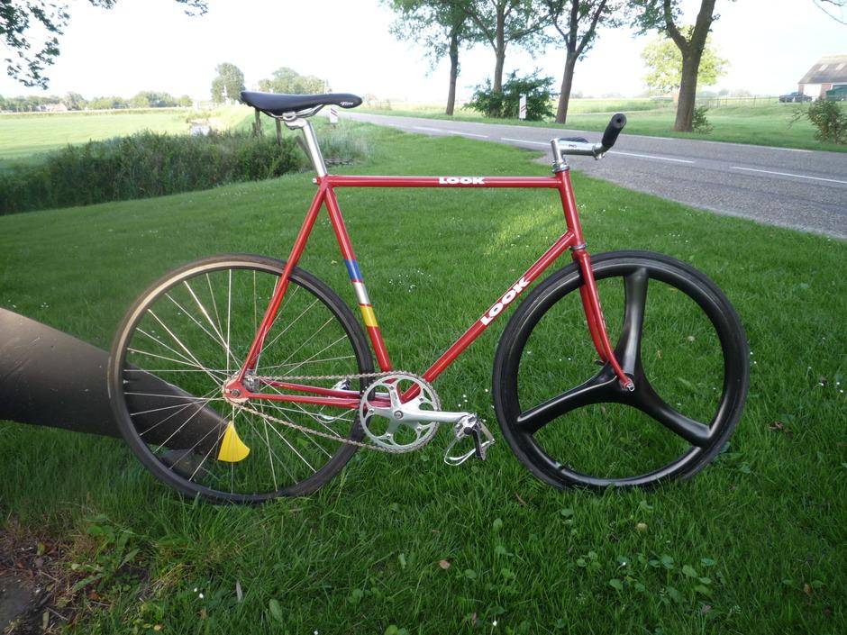 Steel Track Bike Pedal Room