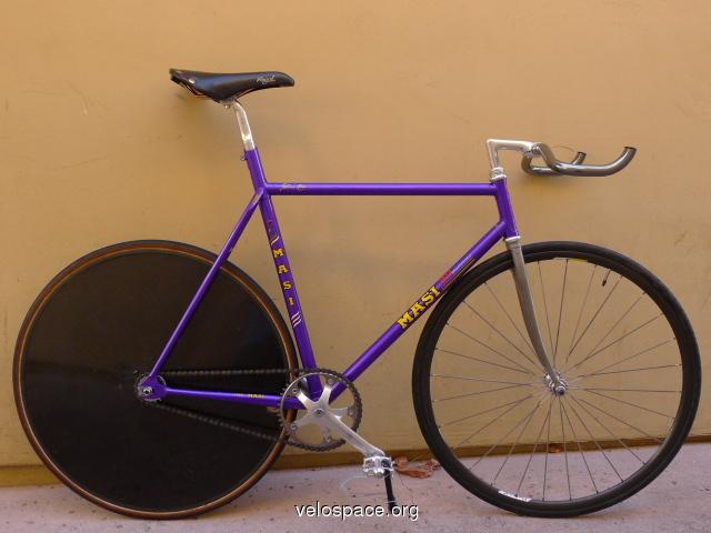 Masi 3volumetrica Pursuit Track Bike Pedal Room