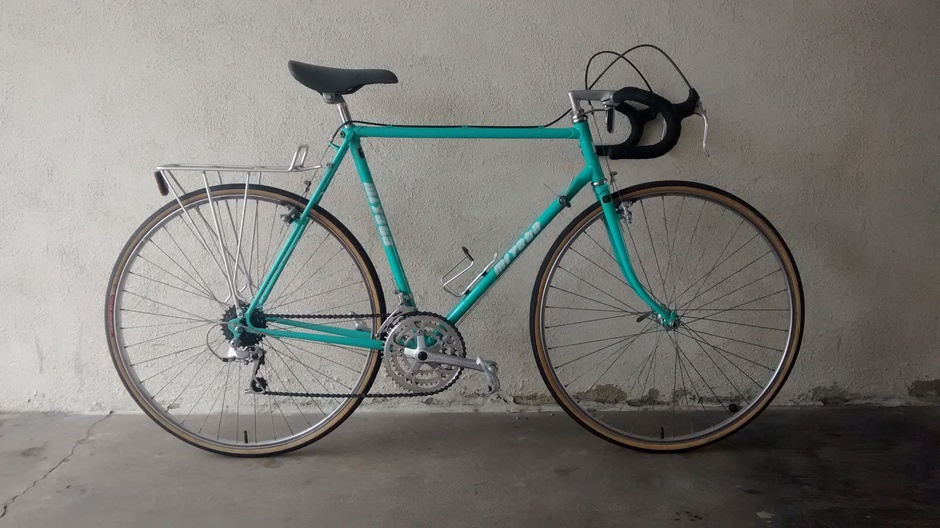 Miyata 615 Touring Pedal Room