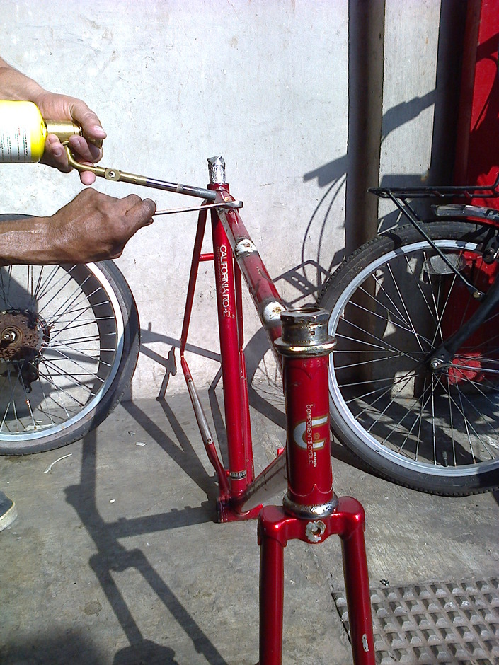 Miyata California Track Conversion Pedal Room