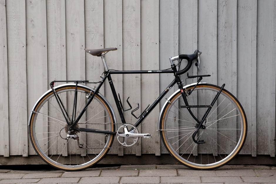 Miyata Triple-Cross 1990 - Pedal Room