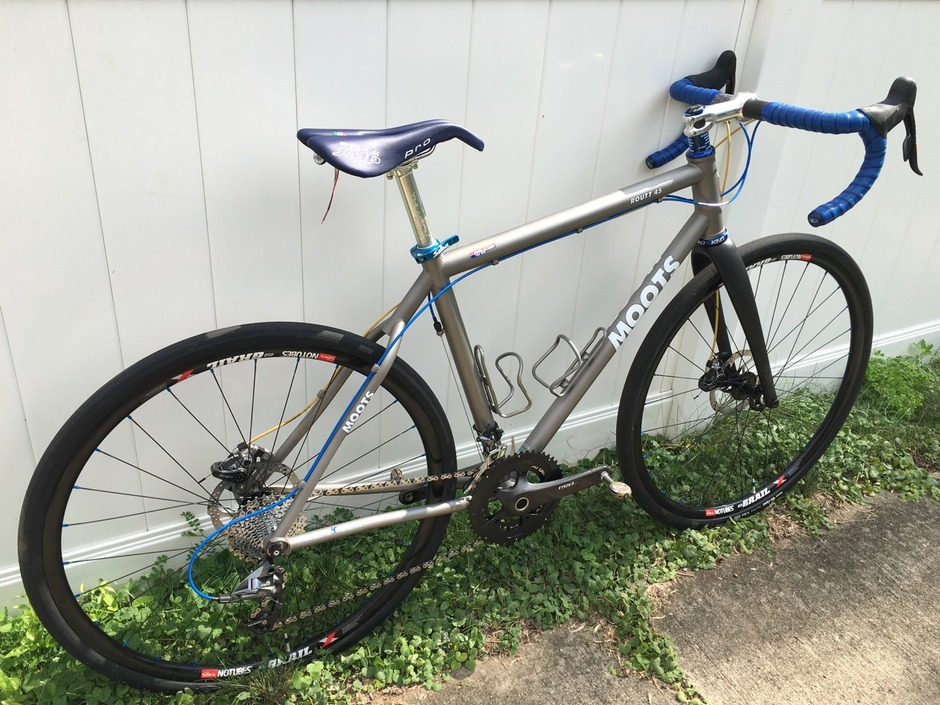 NBD: My custom built Moots! : bicycling