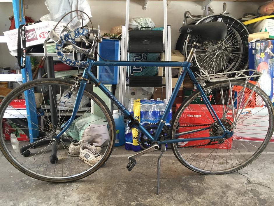 1980s Nishiki Custom Sport Pedal Room