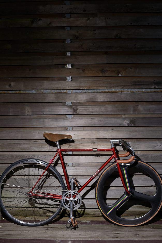 Njs Vivalo Track Bike Pedal Room