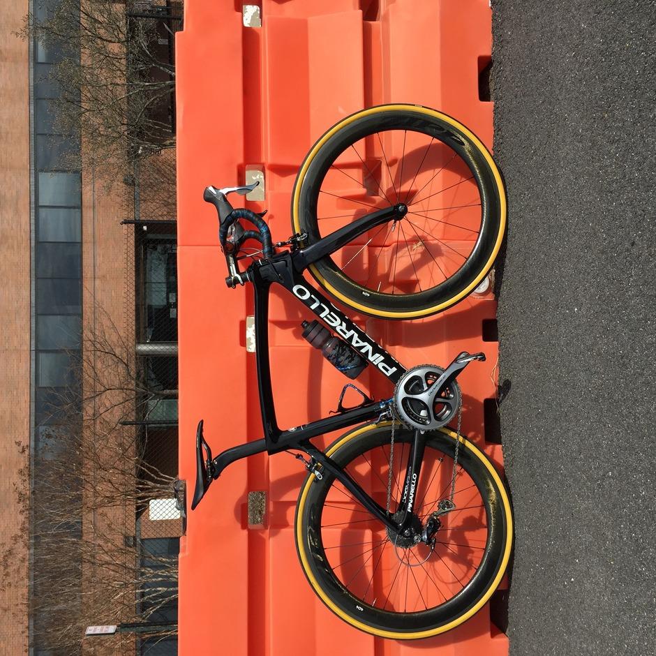 Pinarello Dogma F8 Pedal Room