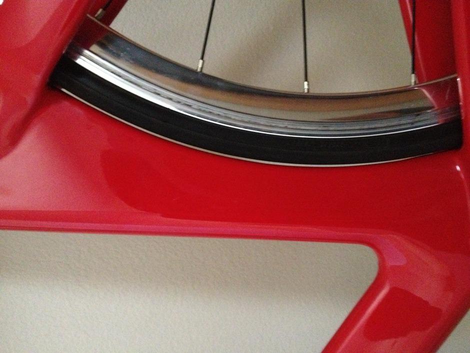 Planet X 2014 Pro Track Carbon 58cm Pedal Room