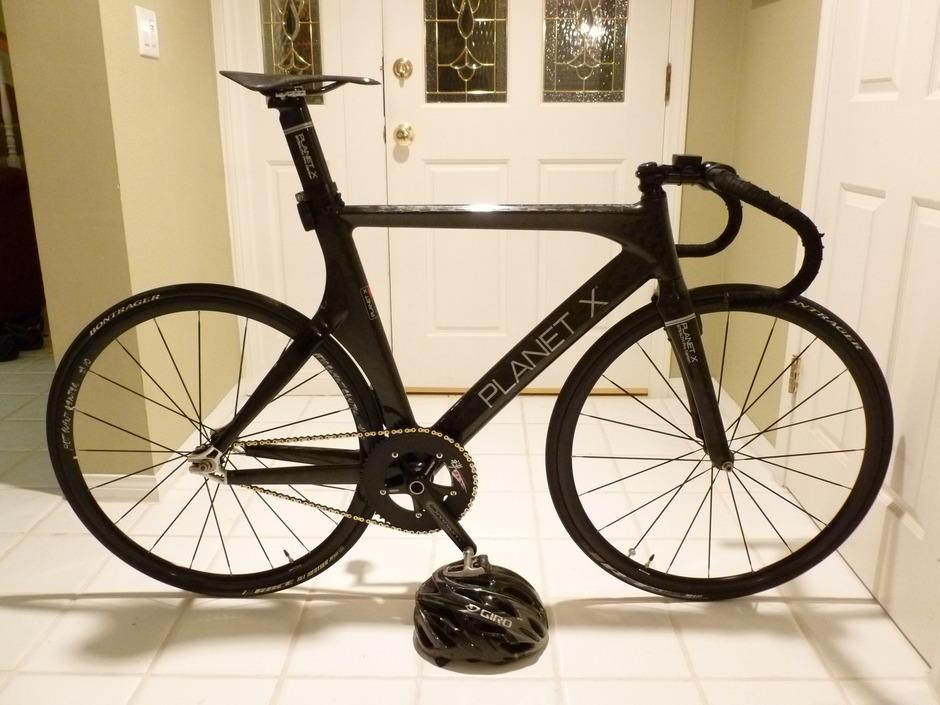 Planet X Pro Carbon Track Bike - Pedal Room