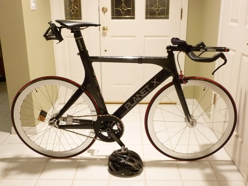 Planet X Pro Carbon Track Bike Pedal Room