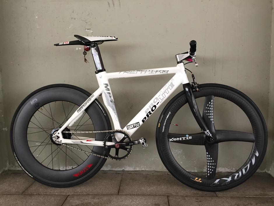 Pro Lite Trentino Track Bike Pedal Room